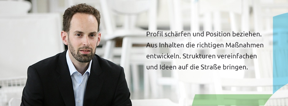 markenprofil | christof ortmann - Strategie