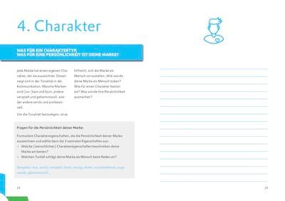 BRAND WORKBOOK Vorschau Kapitel Markenpersönlichkeit